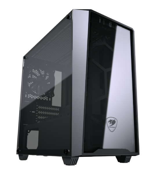 Cougar MG120-G Compact Micro-ATX with Tempered Glass
